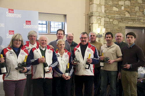 The Great Britain Universal  Trench team had a tremendous season  internationally in 2012